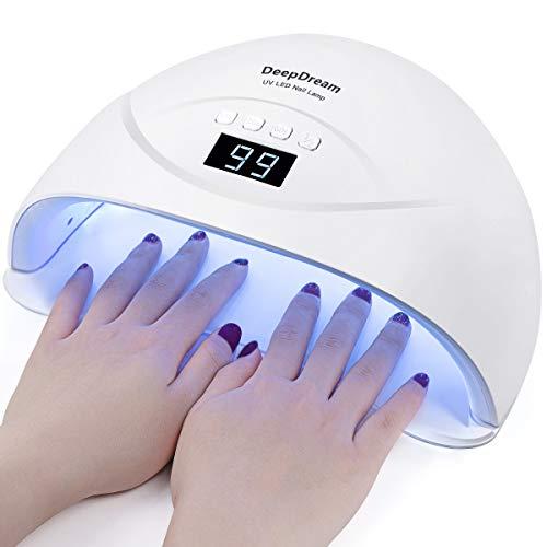DeepDream 48W Gel Nail Lamp UV LED Dryer Curing Lamps Light Fingernail & Toenail Polish Art Professional