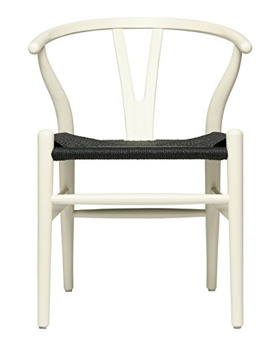 Hans Wegner Wishbone - Silla de asiento tejida