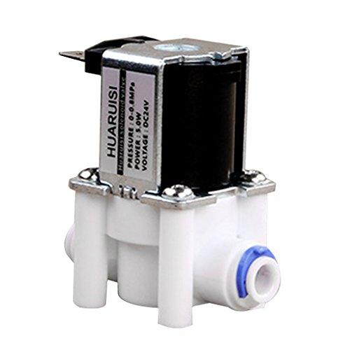 Magnetventil Für Wasserleitung 24V DC 1/4 '' PE Rohrverbinder