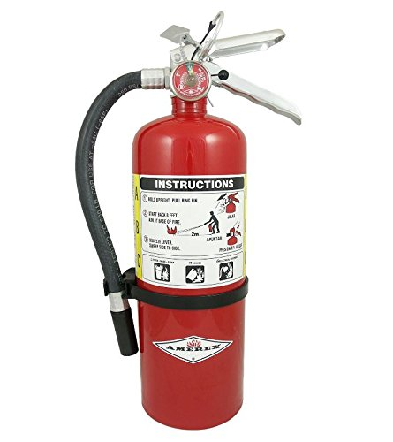 AMEREX B402 Fire Extinguisher, Dry Chemical, 3A:40B:C (Pack of 2)