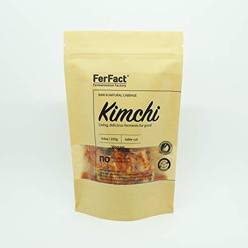 FerFact Kimchi I Authentic Korean Cabbage Kimchi (Vegan Kimchi 250g)