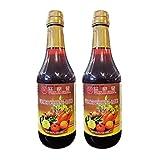 Wan Ja Shan Vegan Worcestershire Sauce (2 Pack, Total of 40fl.oz)