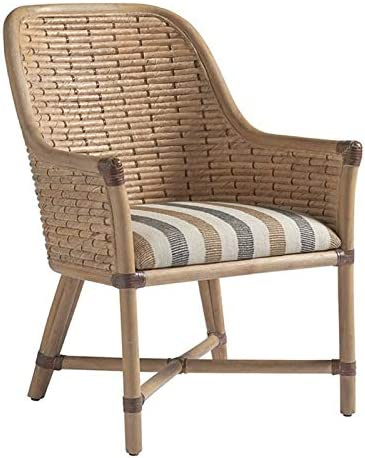 Tommy Bahama Los Altos Keeling Woven Dining in Natural List price Chair Over item handling Arm
