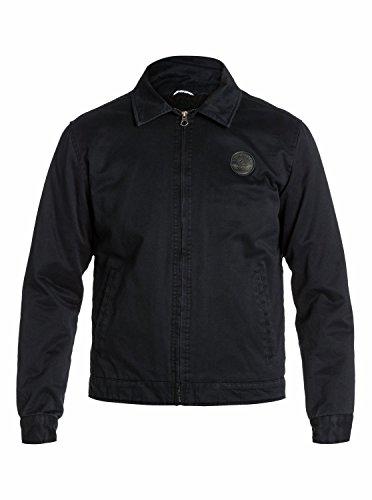Quiksilver Billy - Blouson - Manches longues - Homme - Noir (Black) - XX-Large (Taille fabricant: XXL)