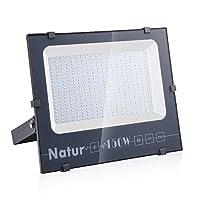 150W LED Foco Exterior de alto brillo,15000LM Impermeable IP66 Proyector Foco...