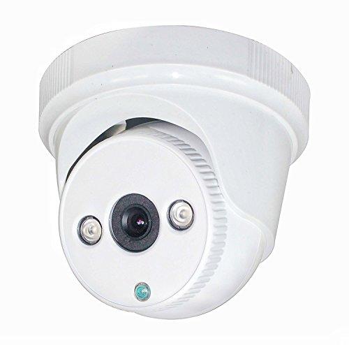 SKYVIEW HD 1080P Vigilancia Seguridad CCTV Cámara,TVI/CVI/AHD/CVBS 4 in 1,1/2.8' 2 Array IR 25m CCTV Domo Cámara–3.6mm Fijo Lente