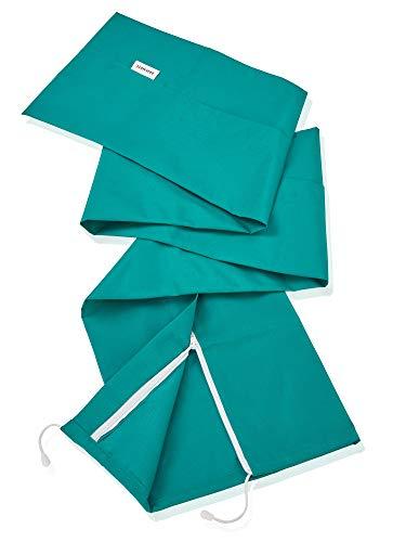 Leifheit Schutzhülle für Wäscheschirme mit Reißverschluss, wetterfest, Abdeckung aus hochwertigem Material, auch zum Schutz von Skiern und Sonnenschirmen geeignet, Schutzhuelle, Hülle 30 x 200cm, grün