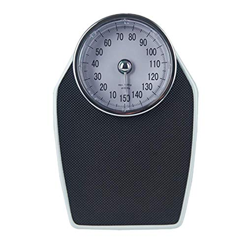 Best Bargain Extra-Large Dial Analog Precision Bathroom Scale, 150 KG/330 LB,Analog Bath Scale, with...