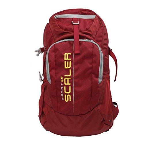 Sincere® Package/Sacs à Dos/Portable/Ultraléger extérieure Alpinisme Sac à Dos/extérieur Sac de randonnée Voyage/avec auvent Rouge 35L