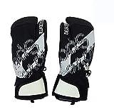 DESCENTEデサント スキー スノーボードミトン手袋「HEAT NAVIグローブ」DWBMJD61(BLKブラック)/O