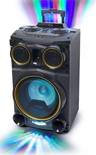 MUSE M-1990 DJ Altavoz de suelo PARTY BOX CD - Bluetooth -...