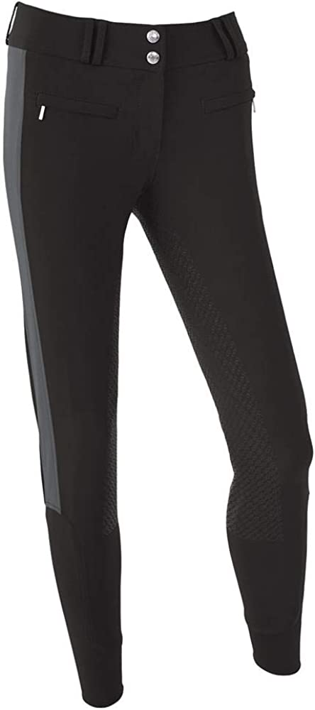 Dover Saddlery Ladies' Dalton Challenge the lowest price Duo Size 28 Breech Don't miss the campaign Bl Knee-Patch