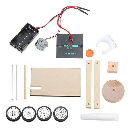 YONH Wa Modul Elektronische Produktion Kit DIY Solar Car Technology kleine Erfindung Student Science Manual Assembly Arduino kompatibel DIY-Kit