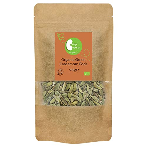 Busy Beans Organic - Cápsulas de cardamomo ecológico (500 g)