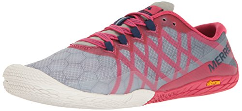 Merrell Women's Vapor Glove 3 Trail Runner, Azalea, 8.5 M US