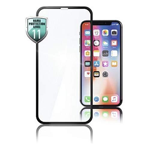 Hama Schutzgl. 3D-Full-Screen iPhone X Bildschirmschutzglas Passend für: Apple iPhone X 1St.