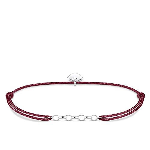 Thomas Sabo Damen-Armband Little Secret 925 Sterling Silber Rot LS051-173-10-L20v