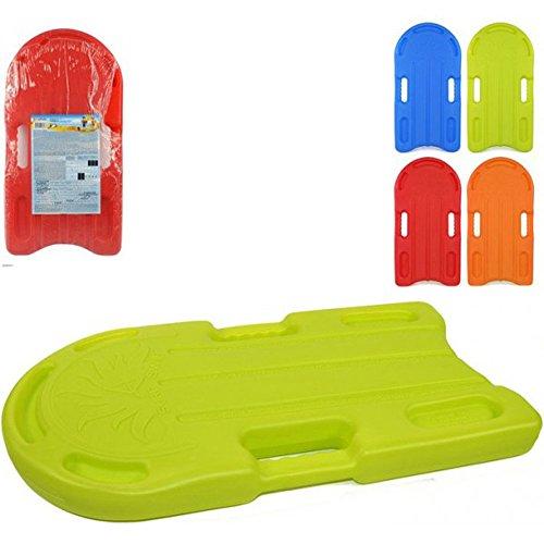 EVERTOP Tavoletta da Nuoto in plastica per Bambini Gioco Allenamento Sport per Mare e Piscina 43 e 67 cm Vari Colori (Grande: 67X34X6 CM) A54