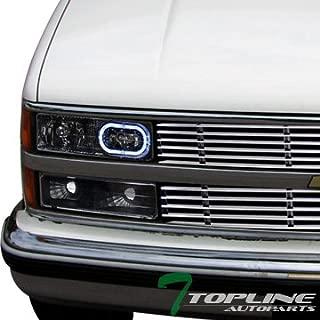 Topline Autopart Black Clear Lens Front Turn Signal...