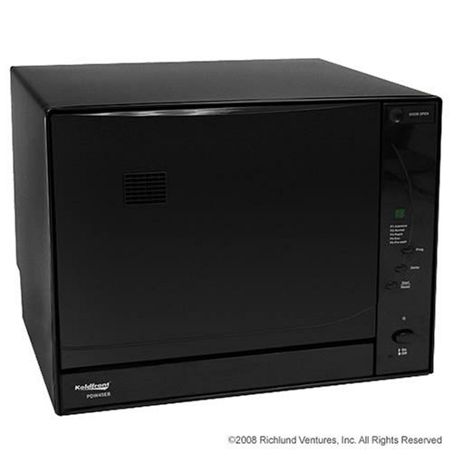 Countertop Portable Dishwasher with Digital Controls - Black
