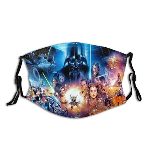 Mundschutz Face Cover Mouth Cover Star-Wars All Reusable Mouth Scarf Face Decorations