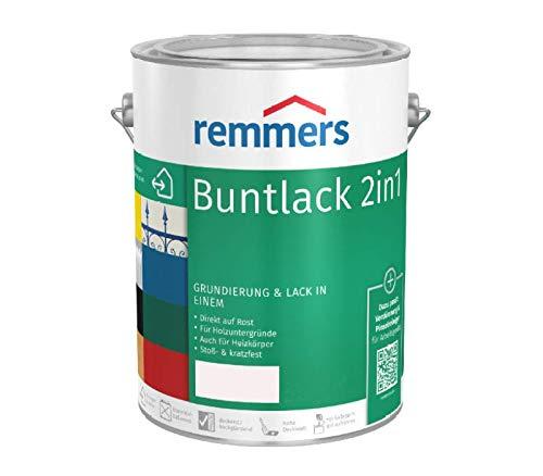 Remmers Buntlack 2in1 Grundierung & Lack (0.75 l, reinweiß (RAL 9010))