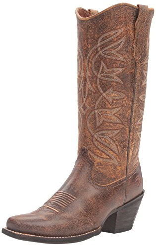 Ariat Women's Sheridan Western Boot, Vintage Bomber, 7 Narrow US