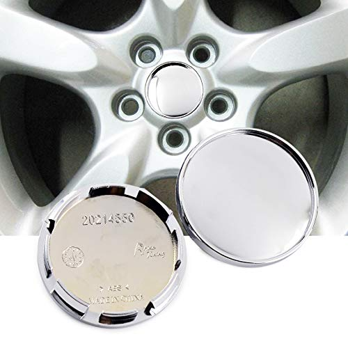 4pcs 60mm(2.36in)/55mm(2.17in) Wheel Center Caps Siver Base for #Legacy GT 2005 MSW Type 85#25 Matte Grey 15x6 Wheel Rims
