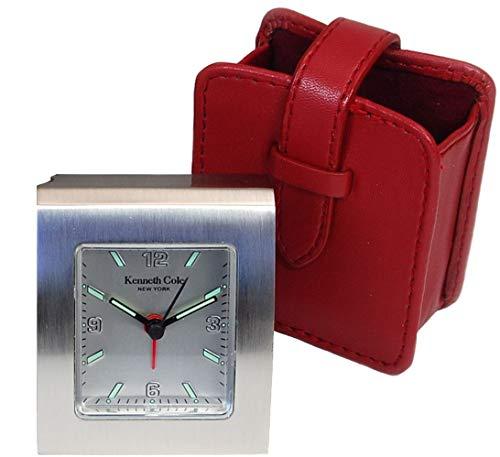 Kenneth Cole KC New York - Reloj, Correa de Metal Color Plateado