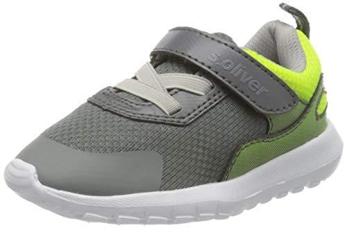 s.Oliver Jungen 5-5-33104-24 Sneaker, Grau (Grey Comb 201), 27 EU