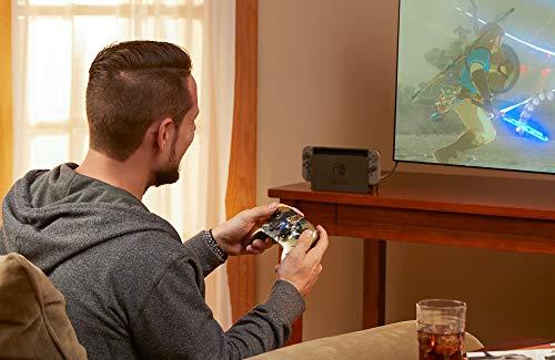 PowerA Enhanced Wireless Controller for Nintendo Switch – Satin Chrome Link