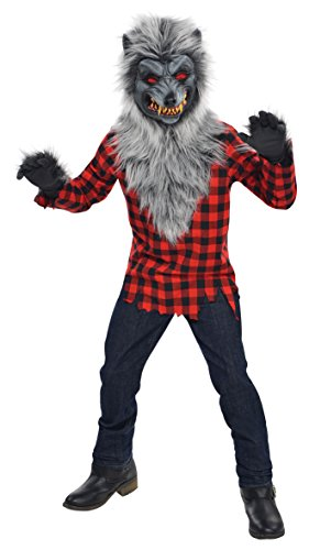 Amscan 999653 Kids Costume Mad Werewolf, Multicolor, 134 cm (8-10 years)