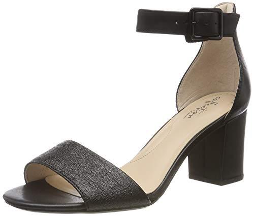 Clarks Deva Mae, Zapatos de tacón. Mujer, Negro Combi Black Combi Black, 36 EU
