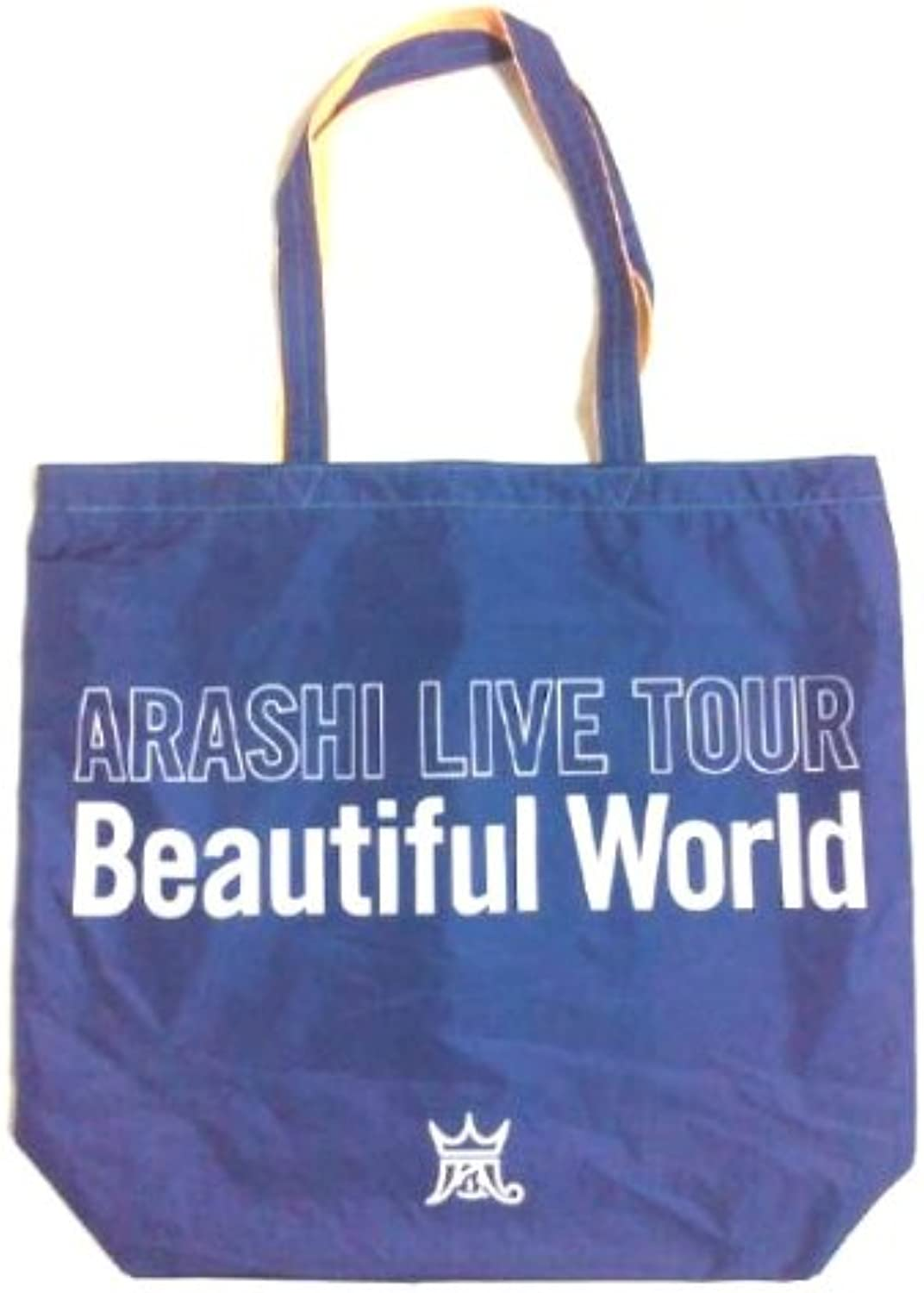 Storm arashi Beautiful Worrld live tote bag (reversible) (Japan import   The package and the manual are written in Japanese)