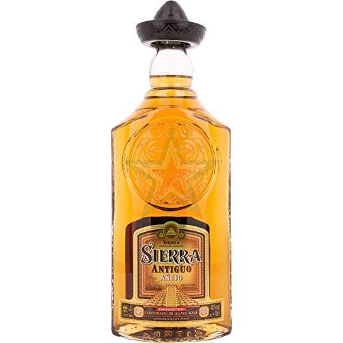 Sierra Tequila Antiguo Añejo 1 de Agave 40,00% 0,70 Liter