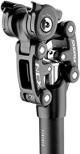 350mm x 27.2mm Black SR Suntour SP12 NCX Suspension Seat Post