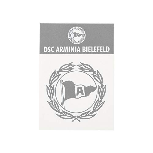 DSC Arminia Bielefeld Aufkleber Logo Silber