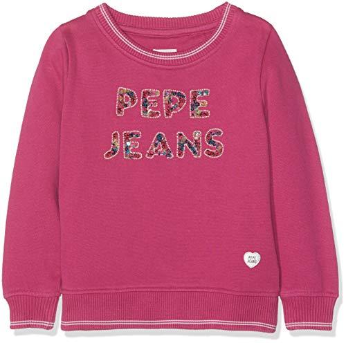 Pepe Jeans Amadea Sudadera, (Rosso 389), 6 años para Niñas
