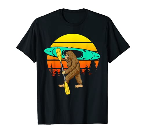 Remar en kayak Bigfoot Balsas del lago Canoa inflable Sasqua Camiseta