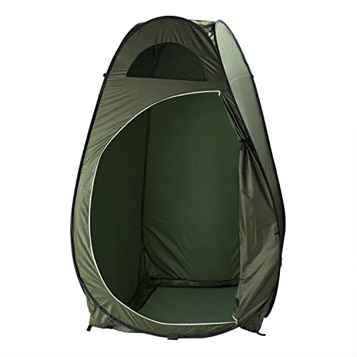 Pop Up Privacy Tent, Shower Changing Toilet Tent with Carrying Bag, Portable Outdoor Camping Sun Shelter Camp Toilet Changing Dressing Room