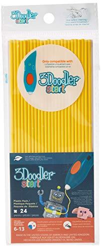 3DOODLER 3Doodler 62116Giallo Fili per 3D-Pen (Pezzi)