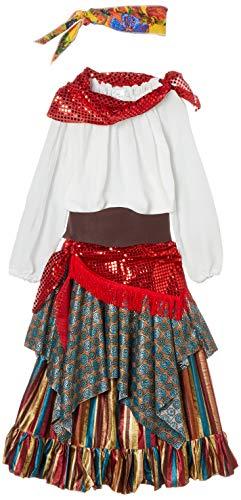 disfraz prime Disfraz zingara Esmeralda, Multicolor, estandar (limitsport 8421796409341)