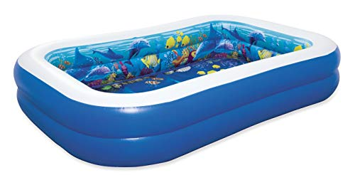 Bestway Family Pool 3D Abenteuer 262 x 175 x 51 cm