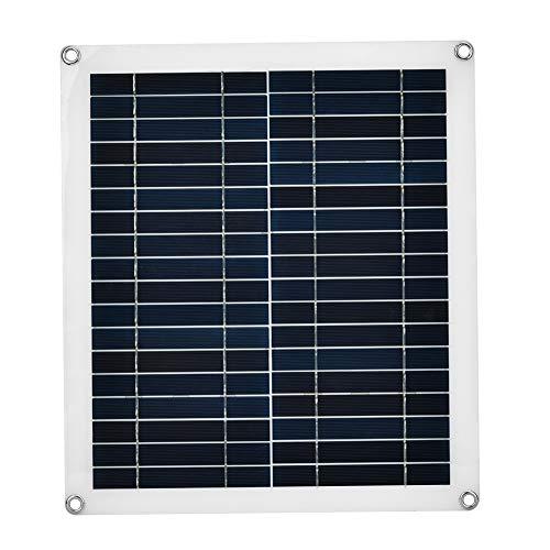 25W Flexible Policristal de Panel Solar impermeablecélula Solar - Ideal para hogar DIY, Proyectos científicos, Sistemas de energía Solar
