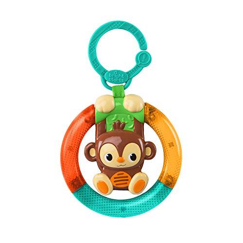 Bright Starts, speelgoed voor de kinderwagen met lampen, aap
