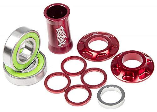 Total BMX Team Support de pédalier Rouge 22 mm