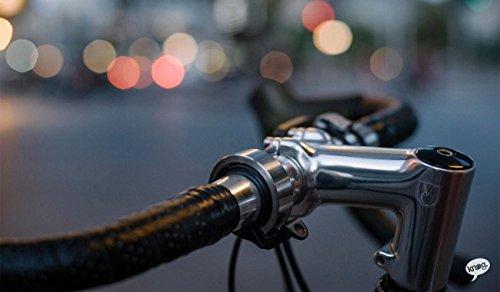 Knog Classic Fahrradklingel Unisex Erwachsene, schwarz - 2