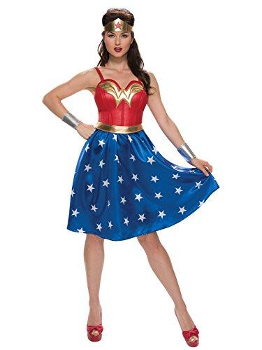 Rubie's Costume Co. Women's Wonder Woman Costume, As Shown, Small