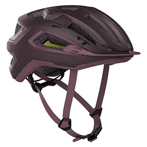 Scott Arx Plus MIPS Fahrrad Helm lila 2020: Größe: S (55-56cm)