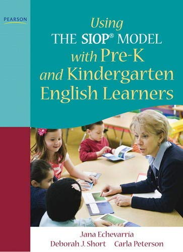 Compare Textbook Prices for Using THE SIOP® MODEL with Pre-K and Kindergarten English Learners SIOP Series 1 Edition ISBN 9780137085231 by Echevarria, Jana,Short, Deborah,Peterson, Carla